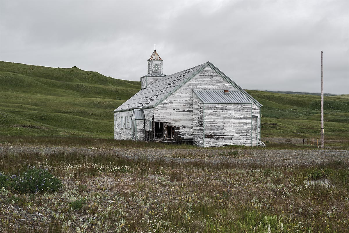faithless #11, usa, 2012 (old church of former military base in adak, aleutians)