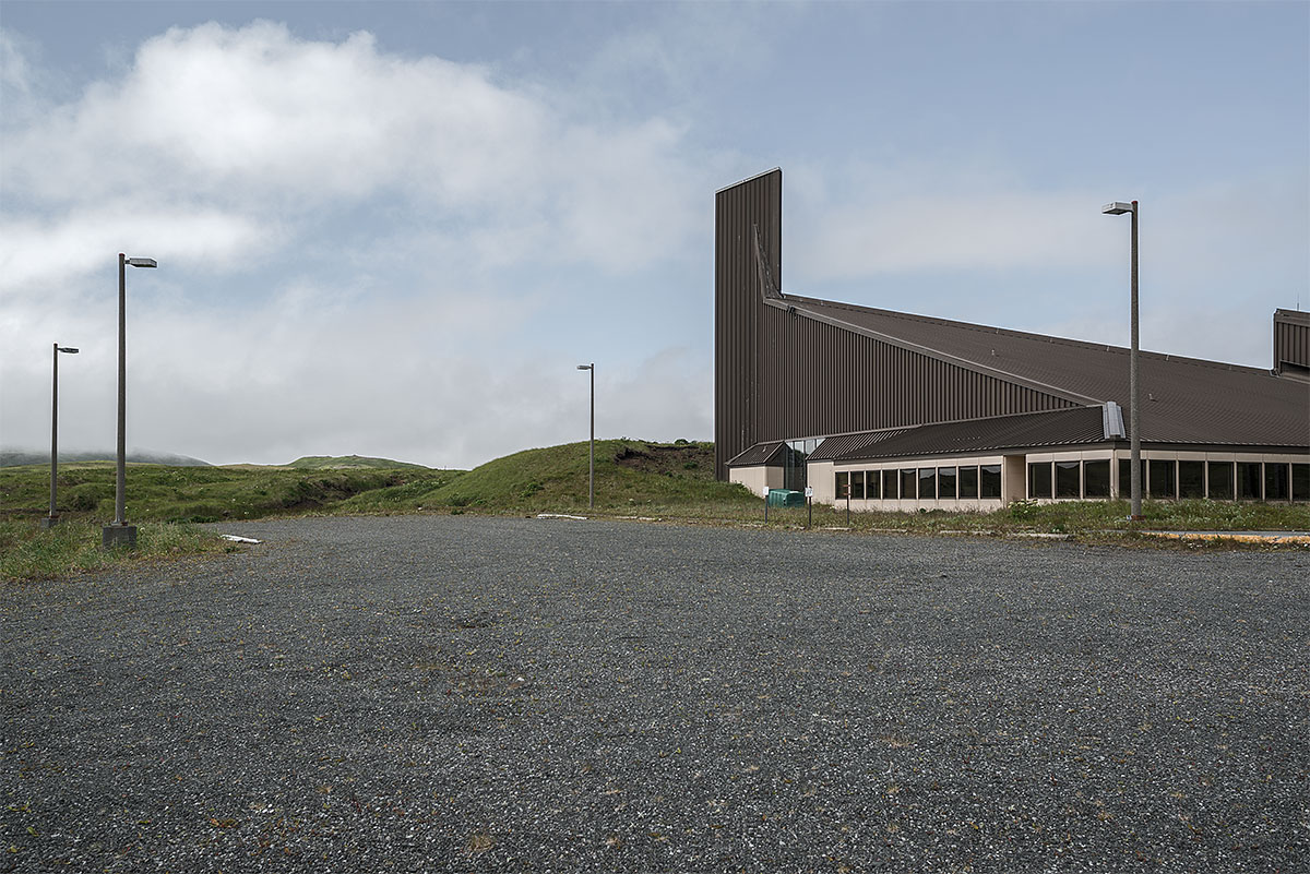 faithless #12, usa, 2012 (the far west outpost adak in the aleutians was in the 80s once home of 7000 soldiers and in need of a big church)