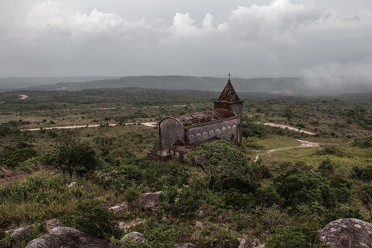 khmer anticrist, faithless #1, cambodia, 2010 (built by the french as part of a bokor hill station)