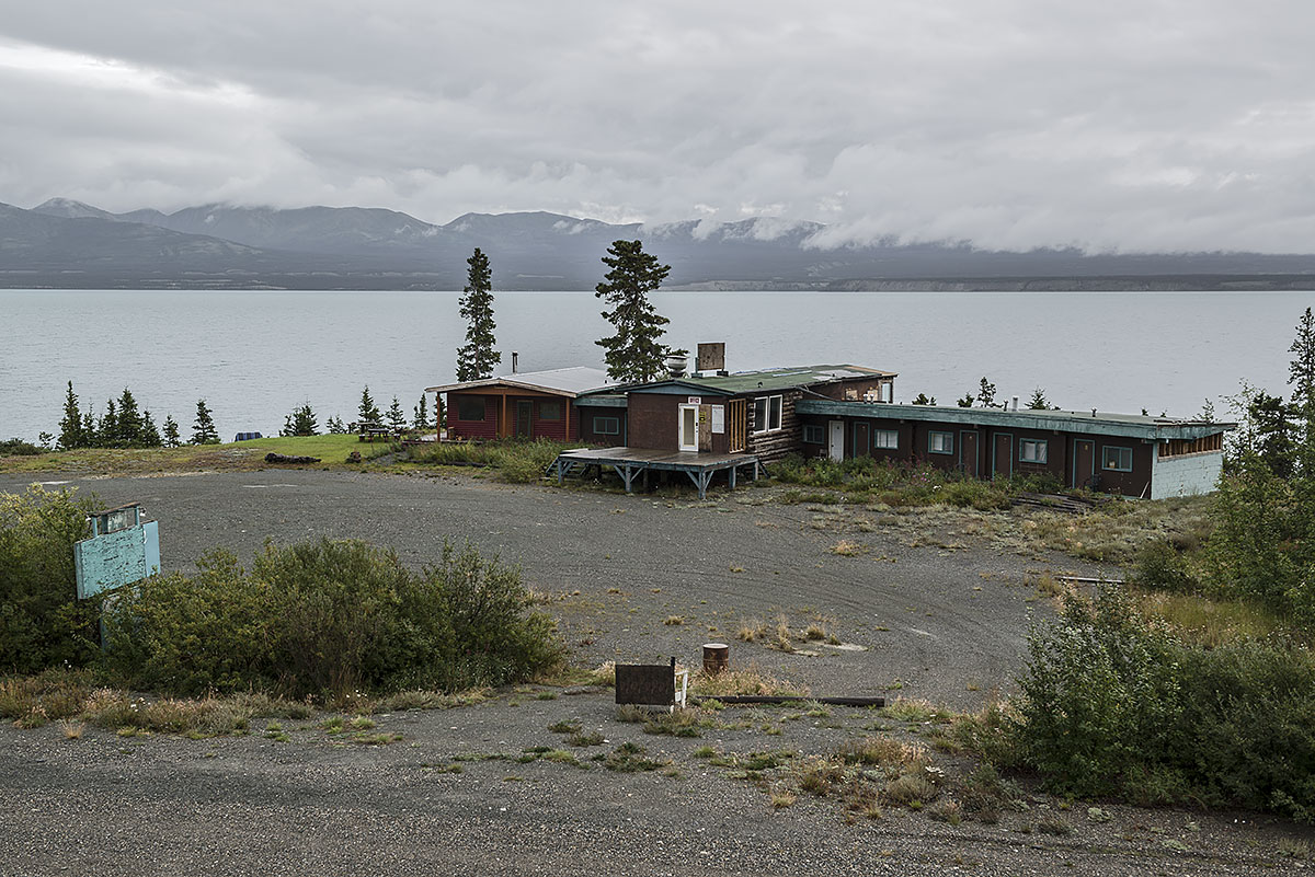 no vacancy #23, canada, 2012 (motel on the alaskan highway at kluane lake)