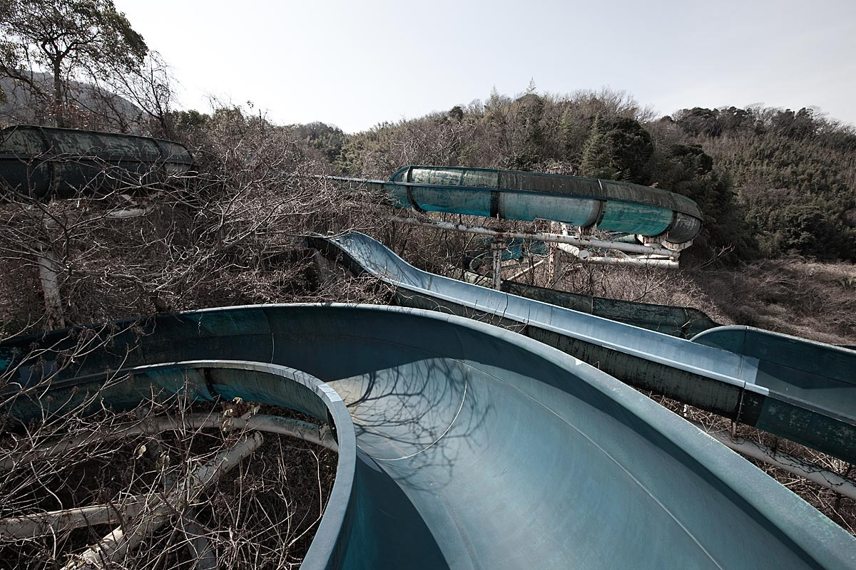 it was a pleasure #5, japan, 2010 (waterslide, demolished in 2010)