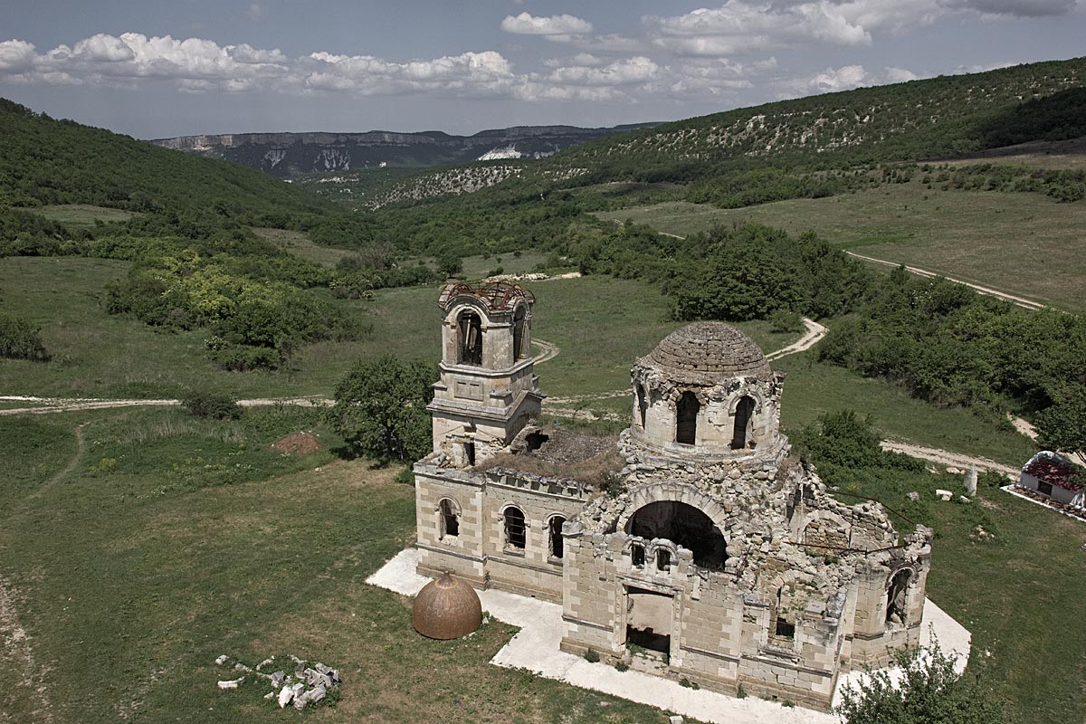 greek tragedy, faithless #7, crimea, 2012 (greek orth. monastry that was forced to relocate in the 1940s)