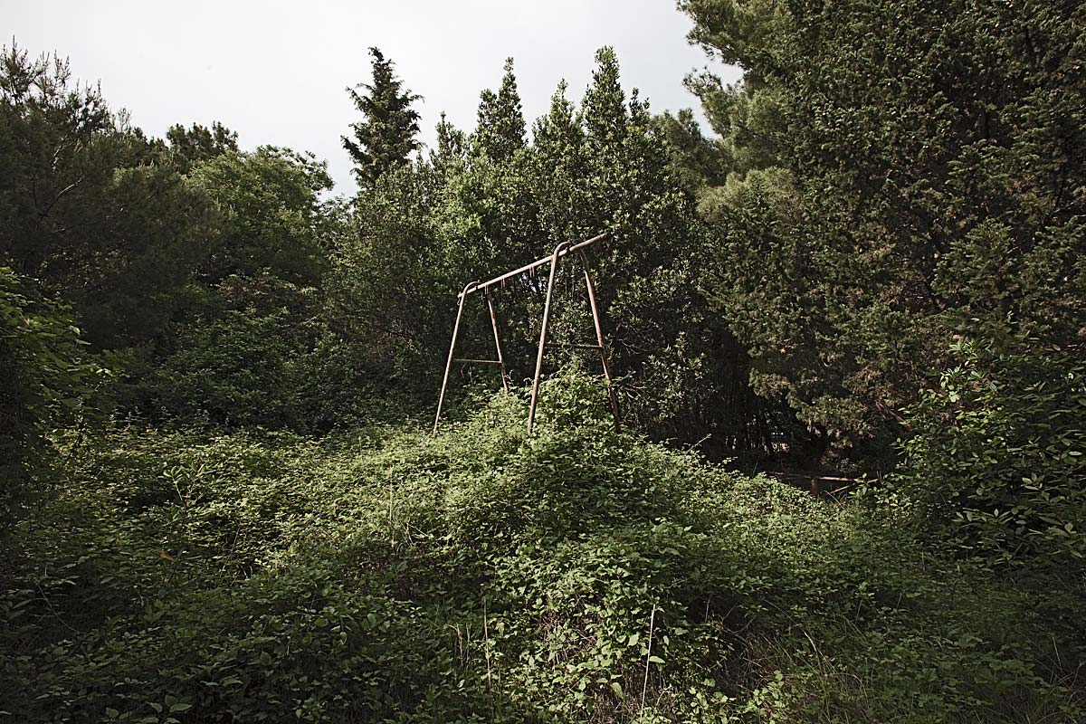 it was a pleasure #34, resort playground swing, croatia, 2011