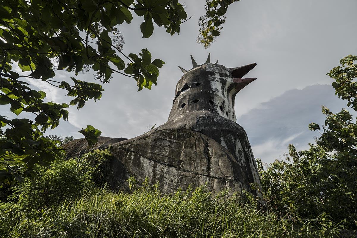 faithless #42, indonesia, 2014 (the 'chicken church' built by an evangelist but never finished due to lack of funds)