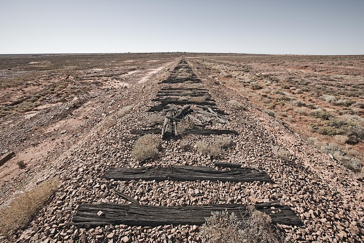 travel without expectation, lost track #1, australia, 2009